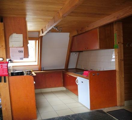 Keuken van het vakantiehuis