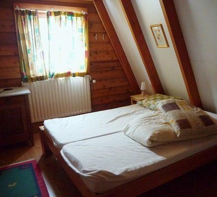 Slaapkamer 2 van het vakantiehuis